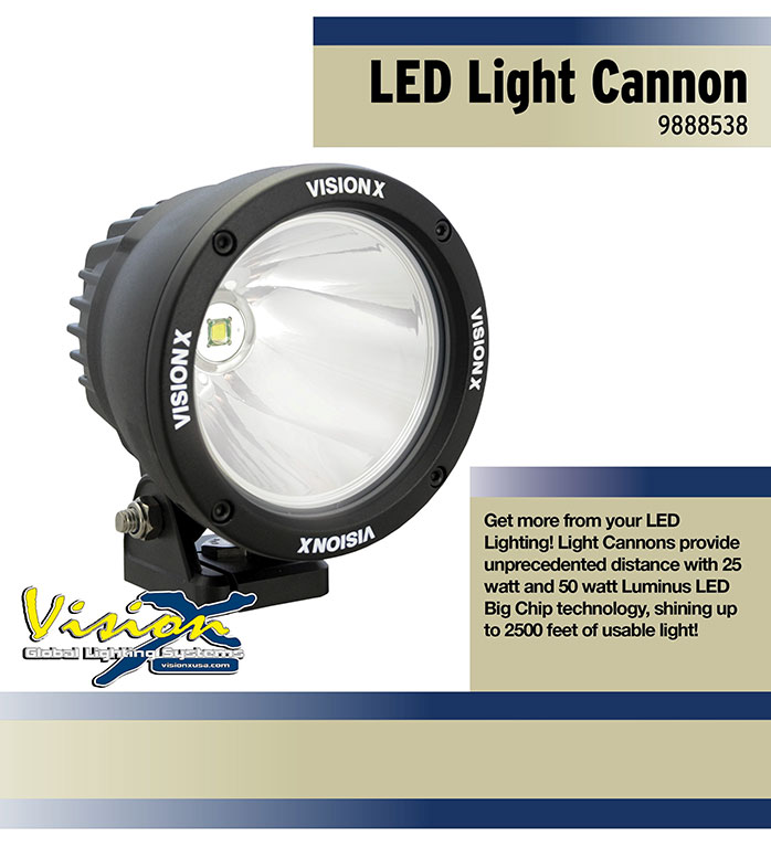 Vision X LED Light Cannon
