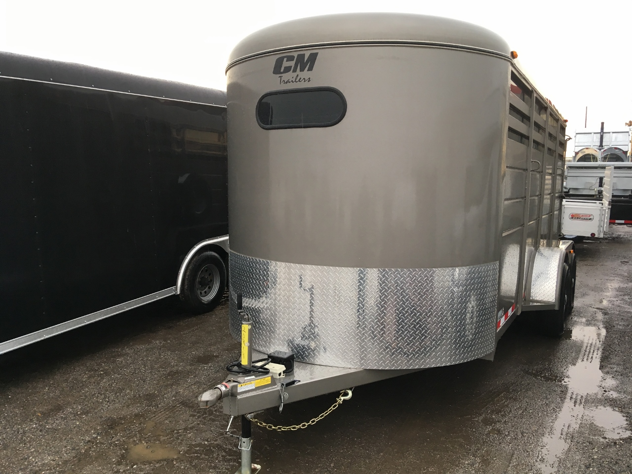 Used Tires Oshawa >> CM Trailers Steel 3 Horse Slant Bumper Pull