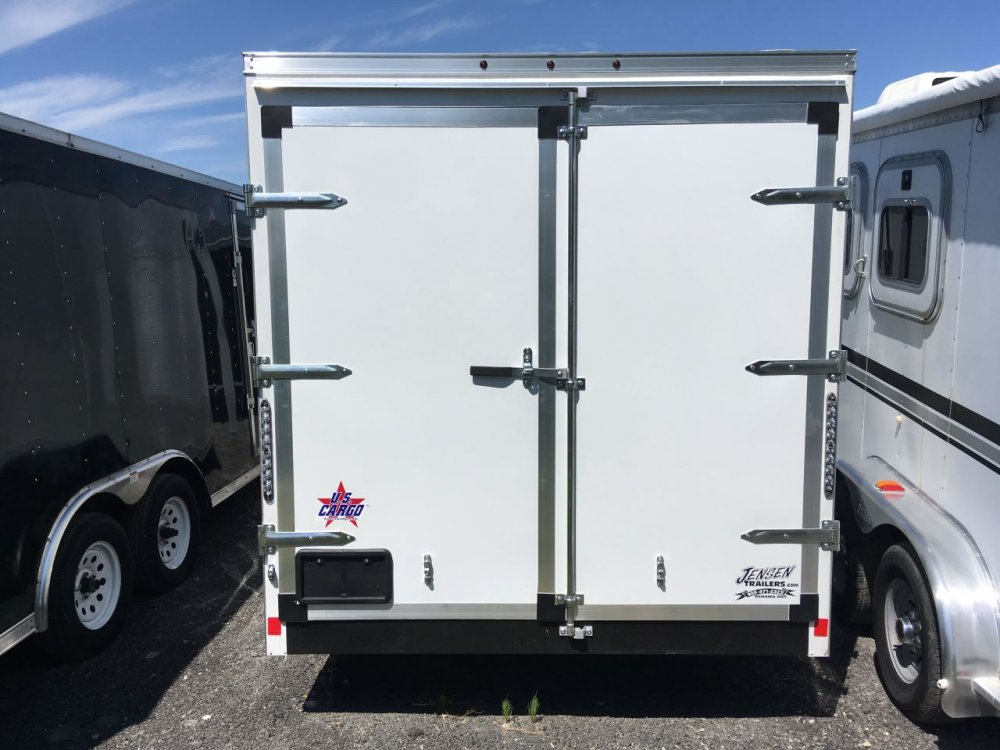 Forest River 7x16 V-Nose Barn Doors With E-Track