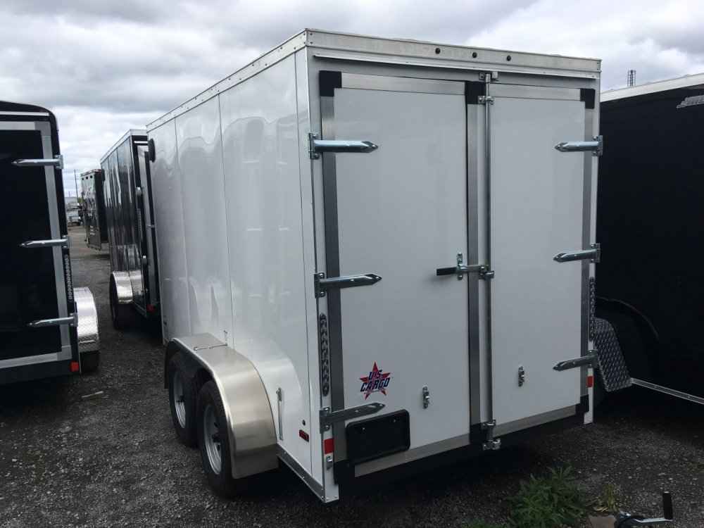 Forest River 6x12 Tandem V-Nose Barn Doors