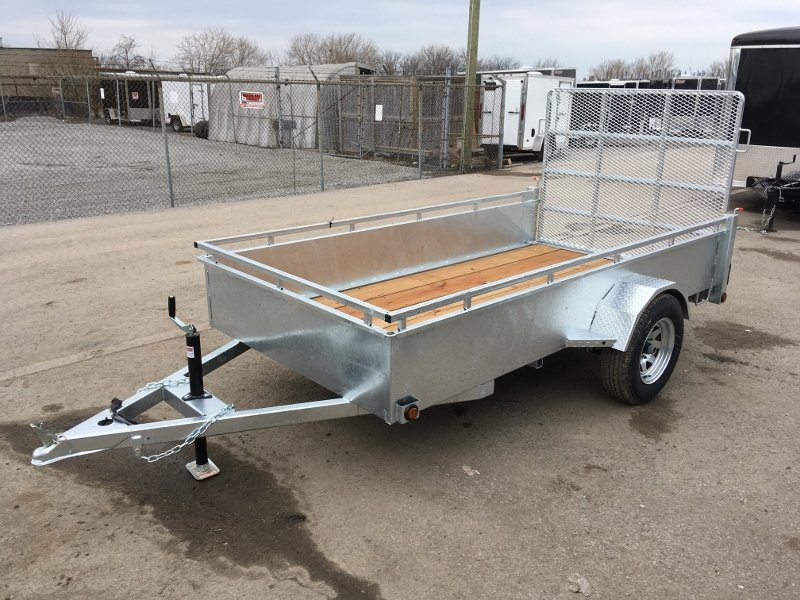 K-Trail 5x10 Galvanized Utility Trailers