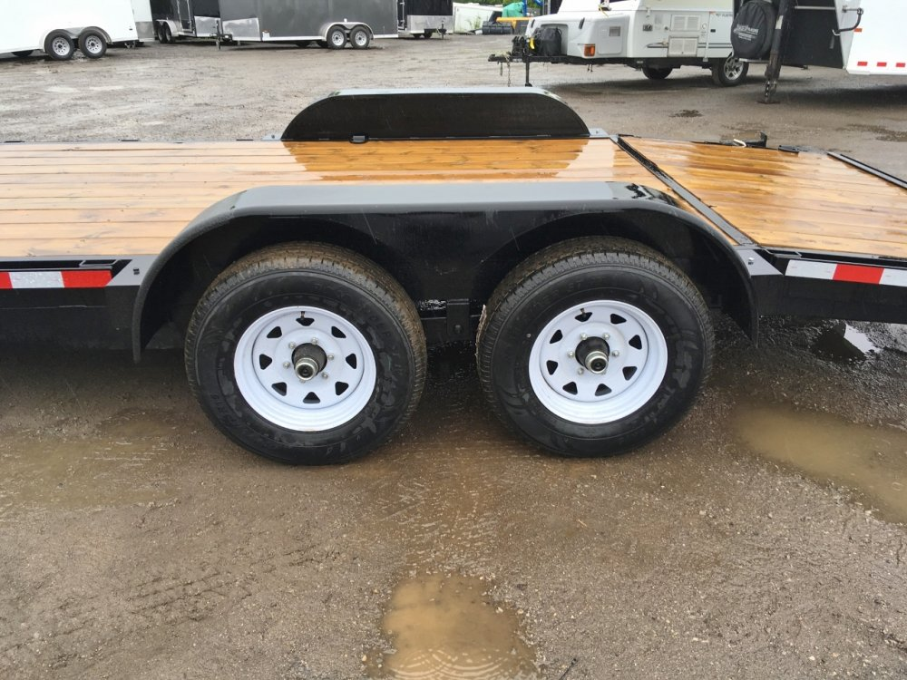 Canada Trailers 7x18 Car Hauler 5200lb Axles