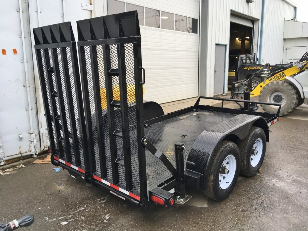 Canada Trailers 6x12 Ultra Low Deck Equipment Float 5 Ton