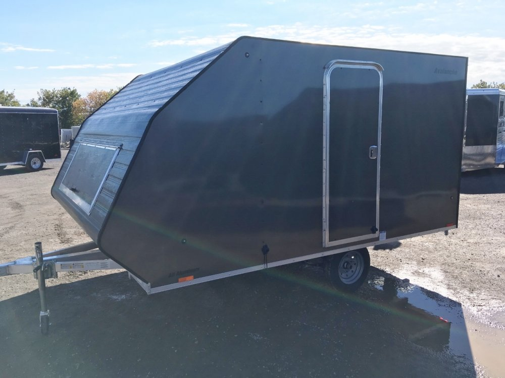 Lightning Avalanche Aluminum 2 Place 11' Bed Hybrid Sled Trailer