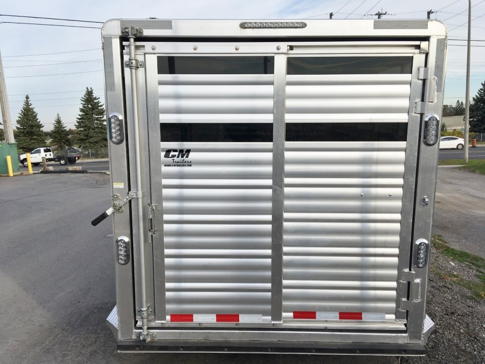 CM Trailers Aluminum 20' Stock Trailer