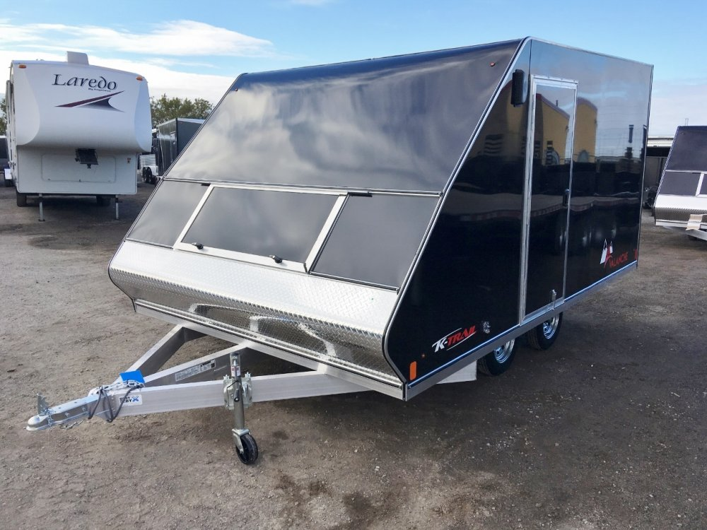 K-Trail Avalanche Aluminum Tandem 2 Place 12' Bed Hybrid Sled Trailer