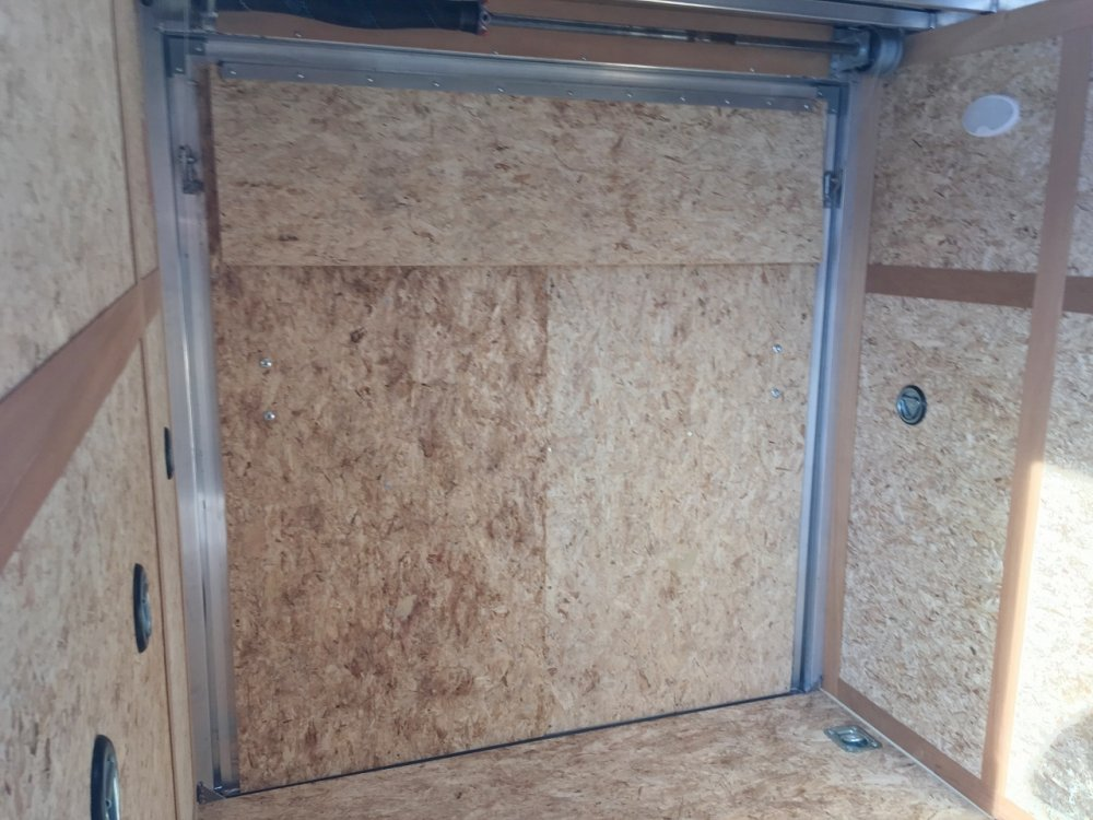 AmeraLite 6x10 Aluminum V-Nose Ramp Door