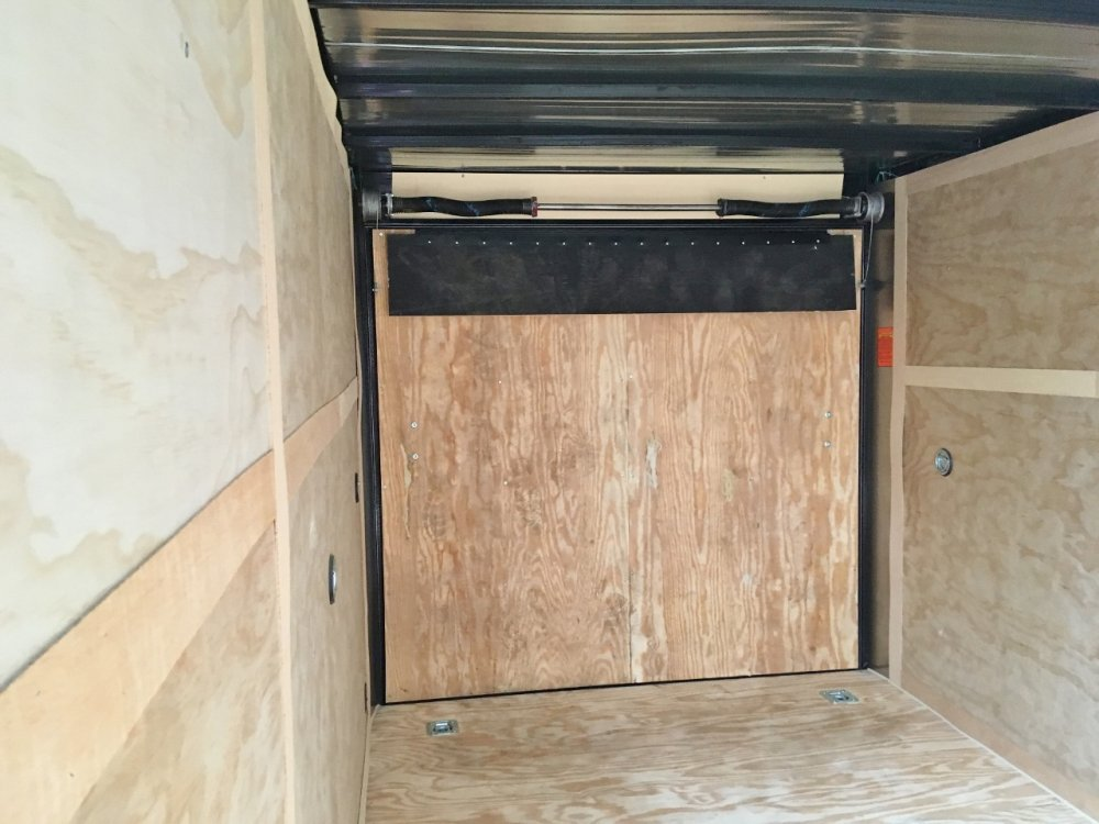 Forest River 7x16 V-Nose Ramp Door