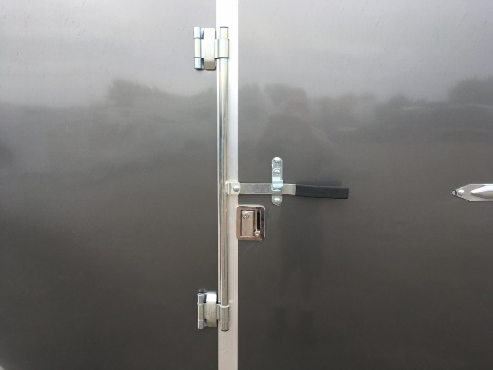 Forest River 7x16 V-Nose Barn Doors