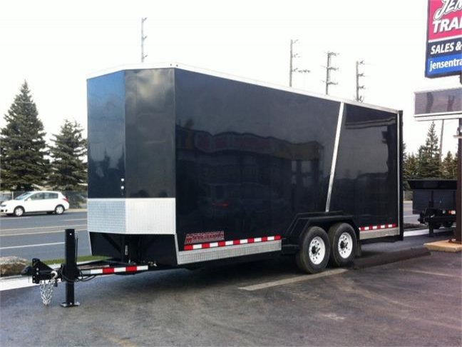 Midsota 18' Enclosed Tilt 'N Load Equipment Trailer