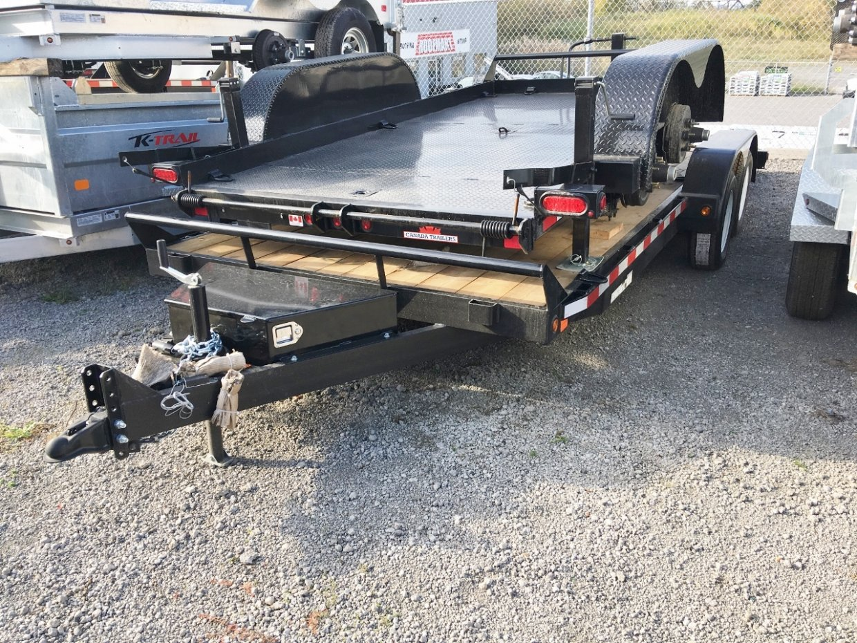 Canada Trailers 7x18 Car Hauler W/Options