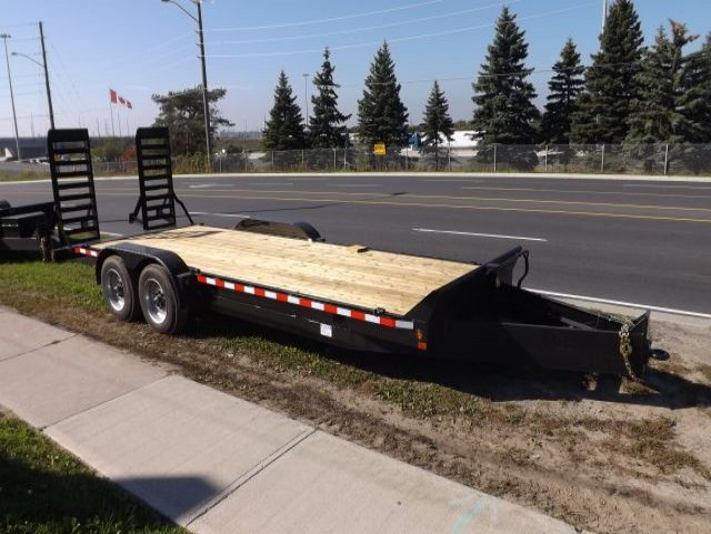 8  Ton  Equipment  Float  Trailer