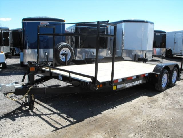 C E718 7K  Car hauler with tire rack