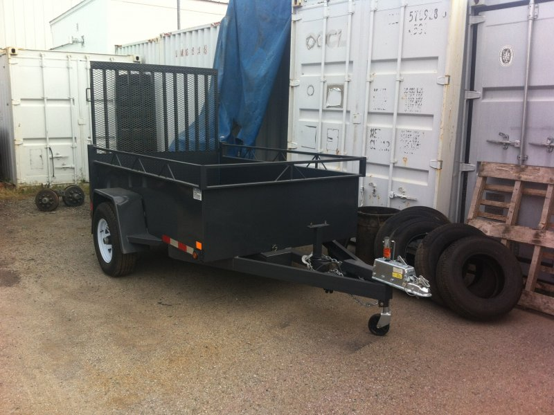 Canada Trailers 5x8 Utility Trailer W/Surge Brakes