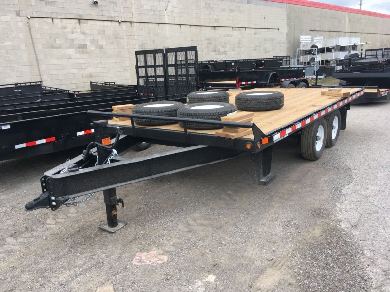 Canada Trailers 16' Straight Deck Deckover Equipment Float 5 Ton