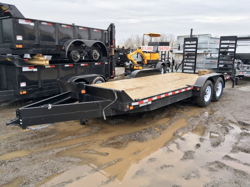 Canada Trailers 7x20 Equipment Float 7 Ton