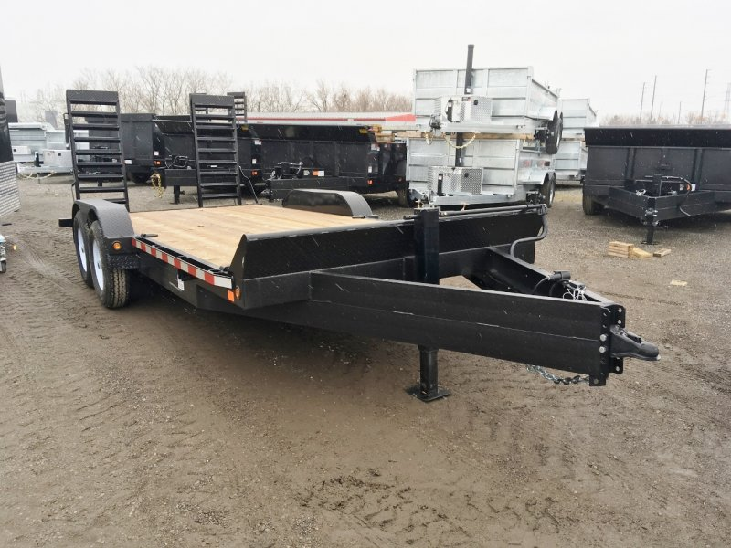 Canada Trailers 7x18 Equipment Float 7 Ton