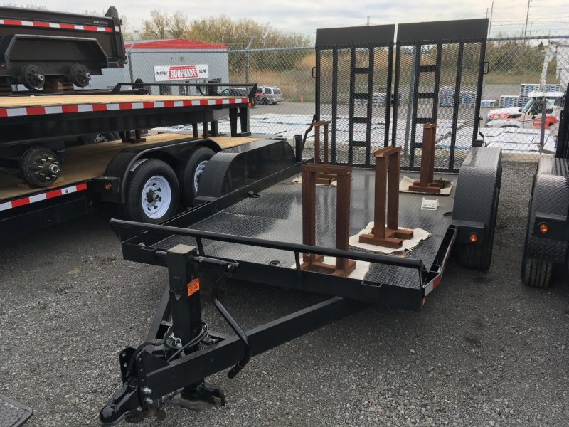 Canada Trailers 7x12 Ultra Low Deck Equipment Float 5 Ton
