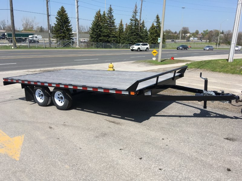 Canada Trailers 16' Economy Deckover Float 3.5 Ton