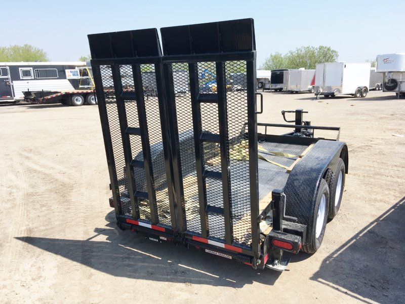 Canada Trailers 5x10 Ultra Low Deck Equipment Float 3.5 Ton