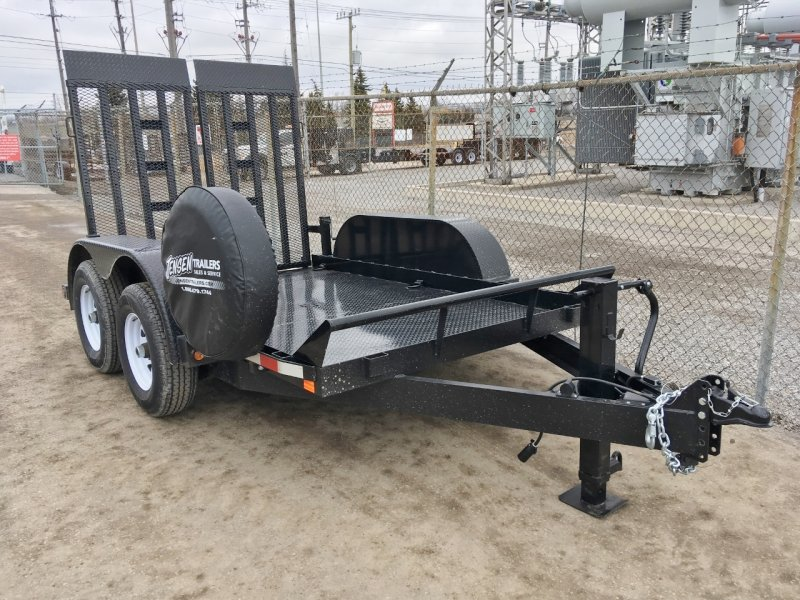 Canada Trailers 6x10 Ultra Low Deck Equipment Float 5 Ton