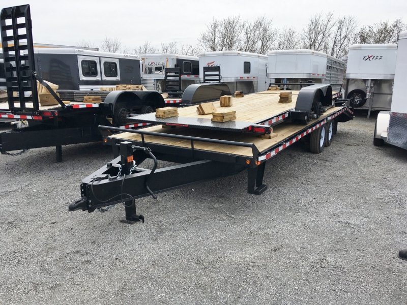 Canada Trailers 25' Deckover Equipment Float 7 Ton